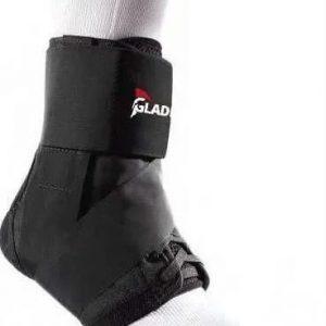 Gladiator sports enkelbrace lichtgewicht met straps